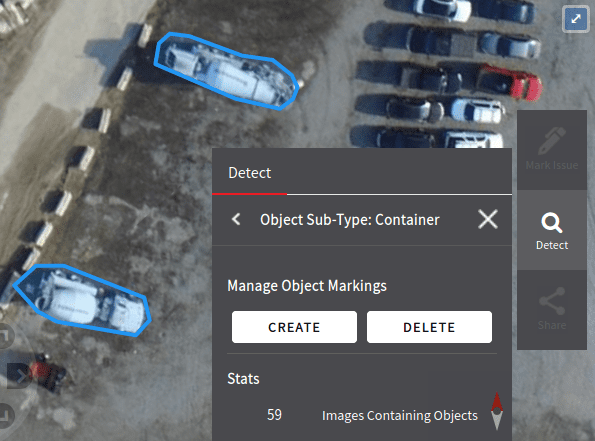 raw image vehicles detection